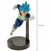 ACTION FIGURE DRAGON BALL SUPER - VEGETA SUPER SAYAJIN BLUE - Z BATTLE REF: 34828/34829
