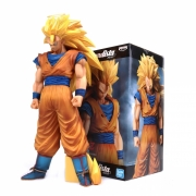 FIGURE DRAGON BALL Z - GOKU SUPER SAYAJIN 3 - GRANDISTA NERO REF: 21097/21098