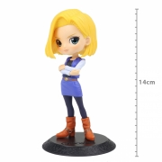FIGURE DRAGON BALL Z Q POSKET - ANDROID 18 - VER A - REF:21398/21399
