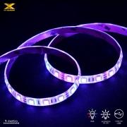 FITA DE LED VX GAMING RGB COM CONTROLADOR CONEXAO USB 60 PONTOS DE LED 1 METRO - LRU1