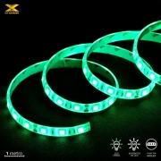 FITA DE LED VX GAMING VERDE COM CONEXAO MOLEX 60 PONTOS DE LED 1 METRO - LDM1