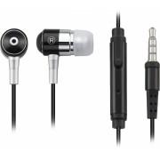 FONE DE OUVIDO COM MICROFONE P2 PH059 PRETO - P2 3.5 MM IPOD, IPHONE, MP3 PLAYER, CELULAR E TABLET