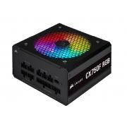FONTE ATX 750W - CX750F FULL MODULAR - RGB BLACK - 80 PLUS BRONZE - COM CABO DE FORCA - CP-9020218-BR