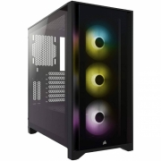 GABINETE ATX MID TOWER - 4000 SERIES - 4000X RGB BLACK - CC-9011204-WW