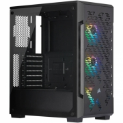 GABINETE ATX MID TOWER - CRYSTAL SERIES 220T BLACK - CC-9011173-WW