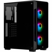 GABINETE ATX MID TOWER - CRYSTAL SERIES 220T RGB BLACK - CC-9011190-WW