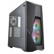 GABINETE MASTERBOX K500 ARGB - VIDRO TEMPERADO - COM CONTROLADOR - MCB-K500D-KGNN-S02