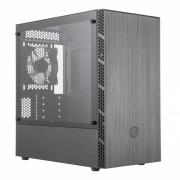 GABINTE MASTERBOX MB400L MINI TOWER SEM ODD PRETO - MCB-B400L-KGNN-S00