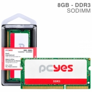 MEMORIA PCYES SODIMM 8GB DDR3 1333MHZ - PM081333D3SO
