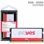 MEMORIA PCYES SODIMM 8GB DDR4 2400MHZ - PM082400D4SO