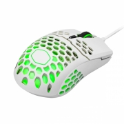 MOUSE GAMER MM711 BRANCO BRILHANTE COM LED - 16000 DPI - MM-711-WWOL2