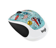 MOUSE LOGITECH M-317C NO LANG BAE-BEE BLUE