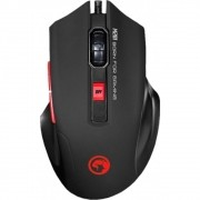 Mouse Marvo Gamer M201 Wired 6 Botões 2400 DPI LED 7 Cores