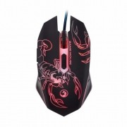 Mouse Marvo Gamer M316 Wired 6 Botões 2400 DPI LED 7 Cores