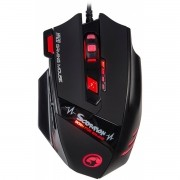 Mouse Marvo Gamer M420 Wired 7 Botões 3200 DPI LED 4 Cores
