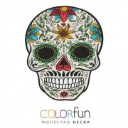 MOUSEPAD DECOR COLORFUN CALAVERA