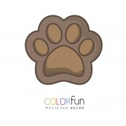 Mousepad / Imã Decorativo ColorFun – Dog Paw