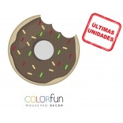 Mousepad / Imã Decorativo ColorFun – Donut