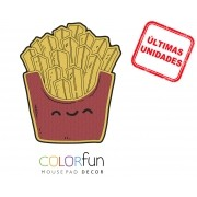 Mousepad / Imã Decorativo ColorFun – Fritas