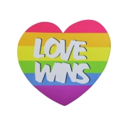 Mousepad / Imã Decorativo ColorFun – Love Wins