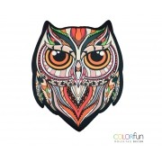 Mousepad / Imã Decorativo ColorFun – Owl Color