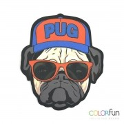 MOUSEPAD / IMÃ DECORATIVO COLORFUN – PUG