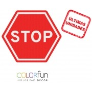 Mousepad / Imã Decorativo ColorFun – Stop