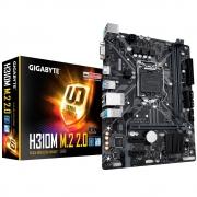 Placa mãe Gigabyte H310M M.2 2.0 Soquete 1151 DDR4 2666