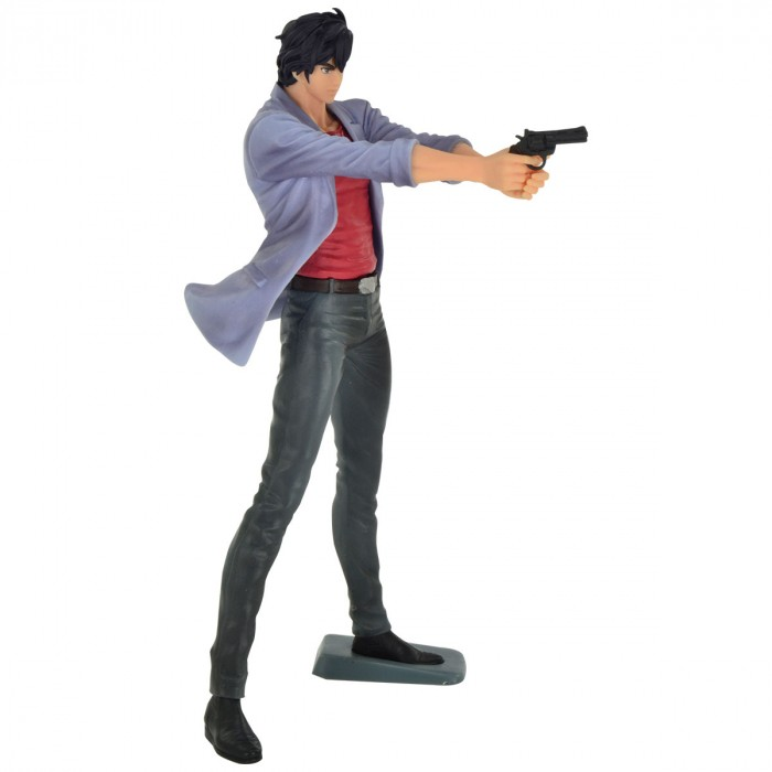 ACTION FIGURE CITY HUNTER MOVIE - RYO SAEBA - CREATOR X CREATOR REF:28991/28992