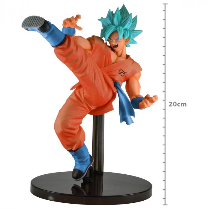 ACTION FIGURE DRAGON BALL SUPER - GOKU SUPER SAYAJIN BLUE - REF.27818/27819