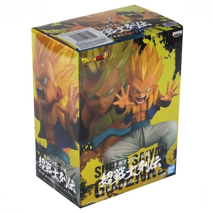 ACTION FIGURE DRAGON BALL SUPER - GOTENKS SUPER SAYAJIN - CHOSENSHIRETSUDEN REF: 20725/20726