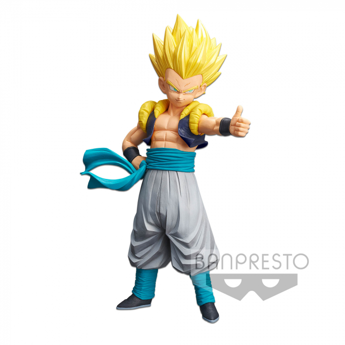 ACTION FIGURE DRAGON BALL Z - GOTENKS - RESOLUTION OF SOLDIERS GRANDISTA REF: 20243/20244