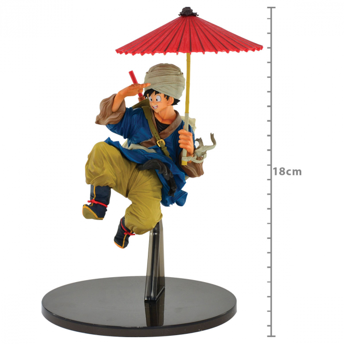 ACTION FIGURE DRAGON BALL Z - SON GOKU - WORLD FIGURE COLOSSEUM2 REF: 34862/34863