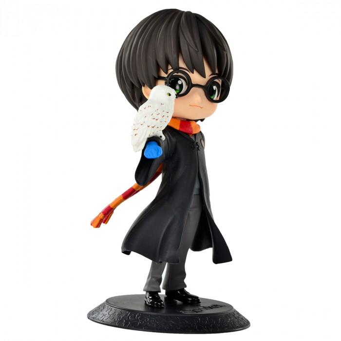 ACTION FIGURE HARRY POTTER - HARRY POTTER - WITH HEDWIG Q POSKET REF: 20915