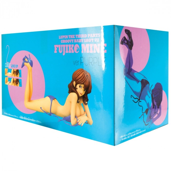 ACTION FIGURE LUPIN THE THIRD PART5 - FUJIKO MINE - GOOVY BABY SHOT VER.B - REF:29281/29282