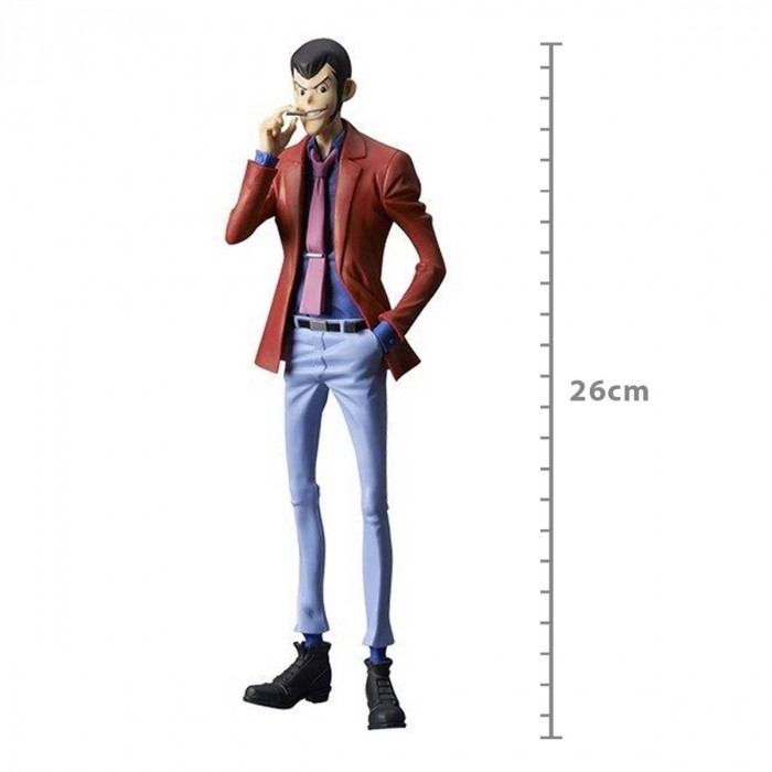 ACTION FIGURE LUPIN THE THIRD PART5 - LUPIN - MASTER STAR PIECE REF.28310/28311