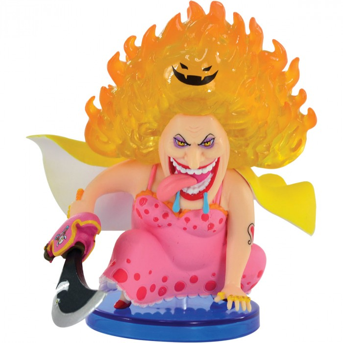 ACTION FIGURE ONE PIECE - BIG MOM - HALLCAKE ISLAND WCF REF.28667/28670