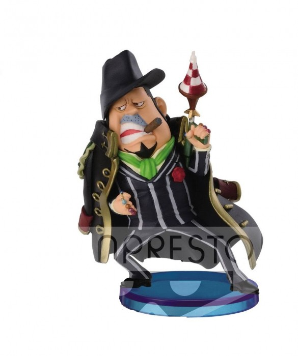ACTION FIGURE ONE PIECE - CAPONE BEGE - HALLCAKE ISLAND WCF