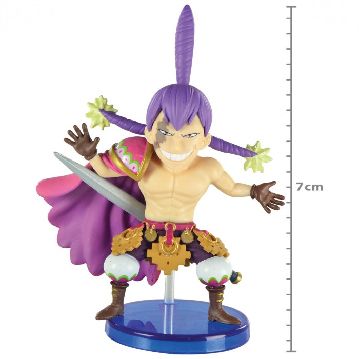 ACTION FIGURE ONE PIECE - CHARLOTTE CRACKER - BATTLE OF LUFFY WHOLE CAKE ISLAND REF 29288/29291