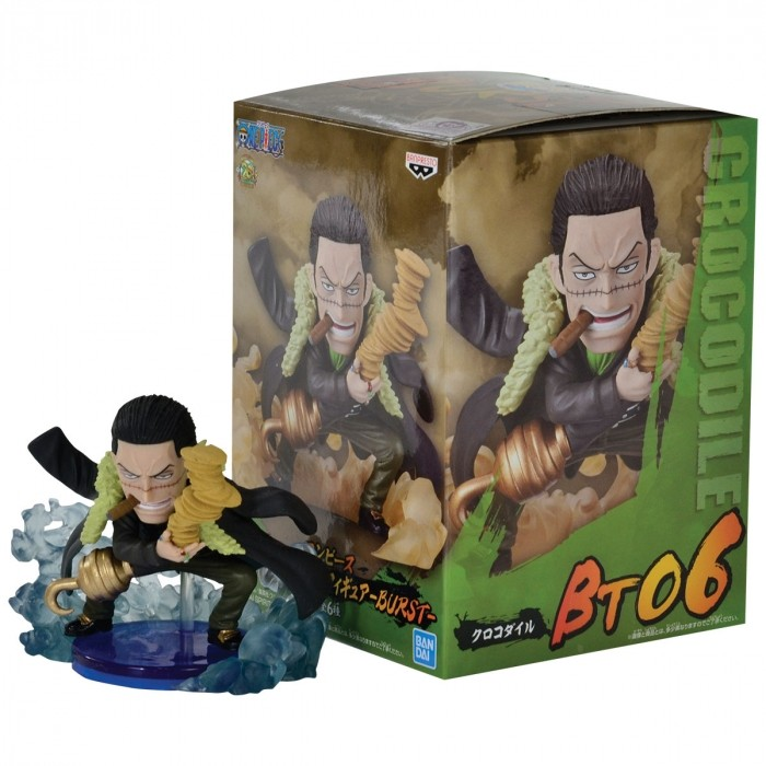 ACTION FIGURE ONE PIECE - CROCODILE - BURST WCF REF:29479/29485
