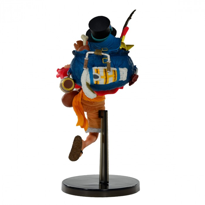ACTION FIGURE ONE PIECE - MONKEY D. LUFFY - THREE BROTHERS REF: 20742/20743