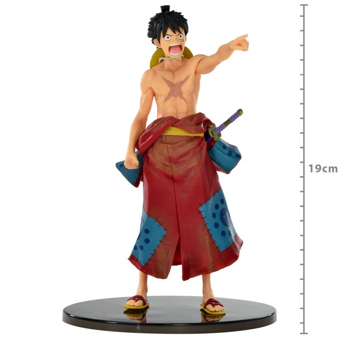ACTION FIGURE ONE PIECE - MONKEY D LUFFY - WORLD COLOSSEUM 2 REF: 20627/20628