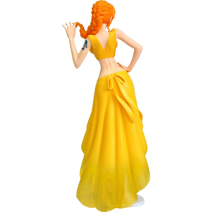 ACTION FIGURE ONE PIECE - NAMI NOIVA AMARELA - LADY EDGE WEDDING REF.27185/27186