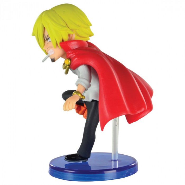 ACTION FIGURE ONE PIECE - SANJI - BATTLE OF LUFFY WHOLE CAKE ISLAND WCF REF:29288/29293