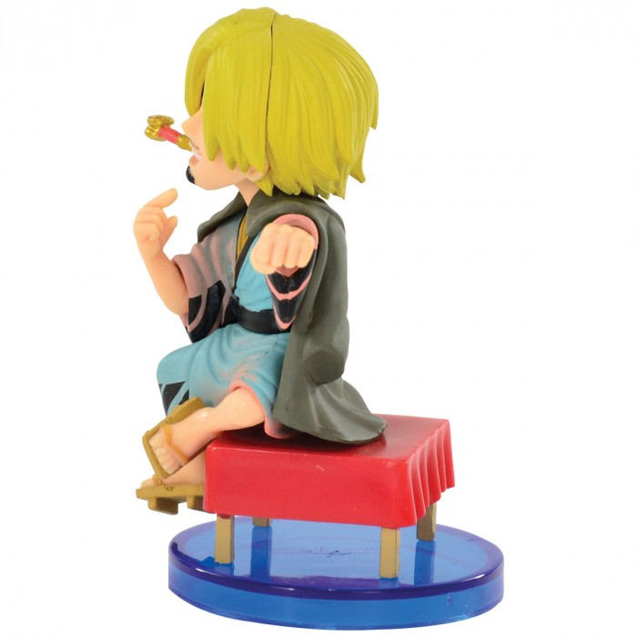 ACTION FIGURE ONE PIECE - SANJI - JAPANESE STYLE WCF REF: 34637/34640