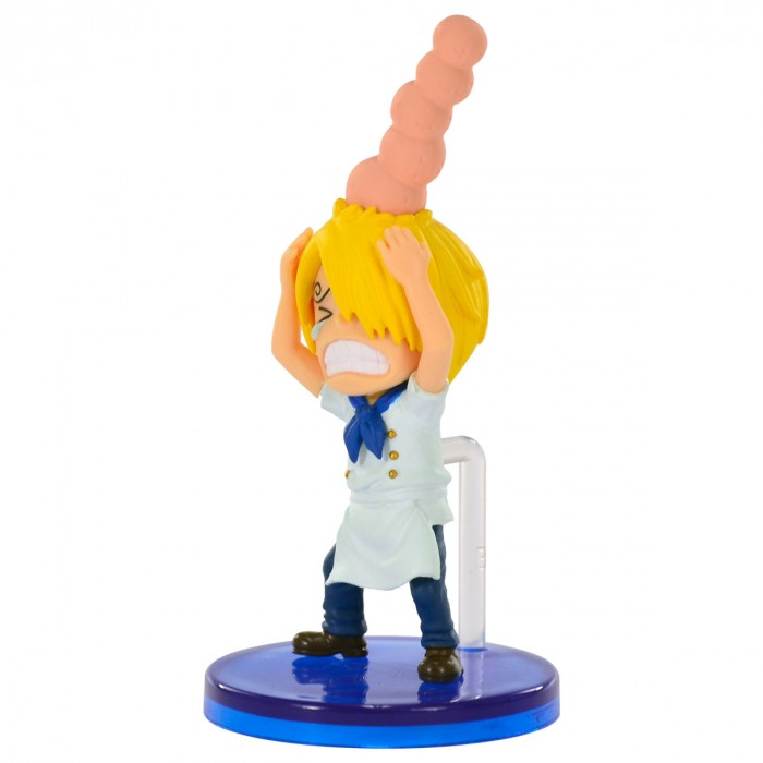 ACTION FIGURE ONE PIECE- SANJI MACHUCADO - WCF REF.28535/28537