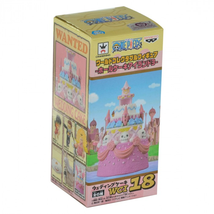 ACTION FIGURE ONE PIECE - WEDDING CAKE - WCF REF.28667/28673