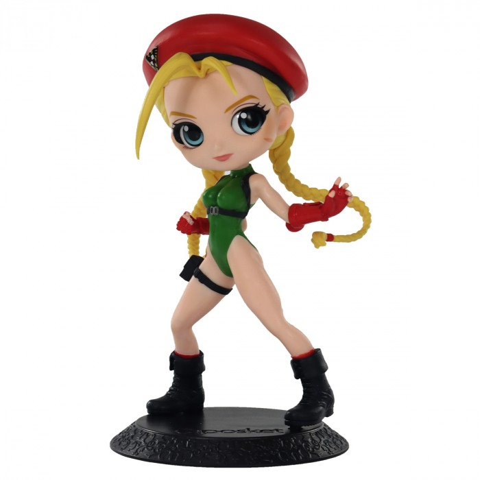 ACTION FIGURE STREET FIGTHER - CAMMY - VER.A Q POSKET REF: 20711/20712