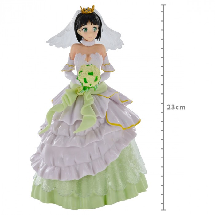 ACTION FIGURE SWORD ART ONLINE - SUGUHA (LEAFA) - WEDDING REF.28633/28634