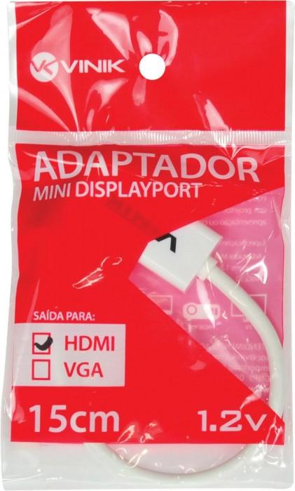 ADAPTADOR MINI DISPLAYPORT X HDMI FEMEA 15CM MDP-H15CM